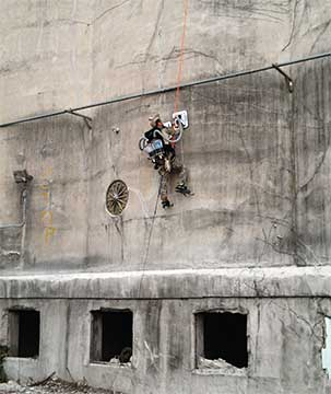 PVAC wall-climber