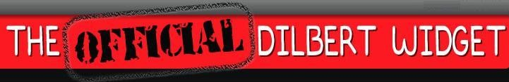 Official Dilbert Widget Banner